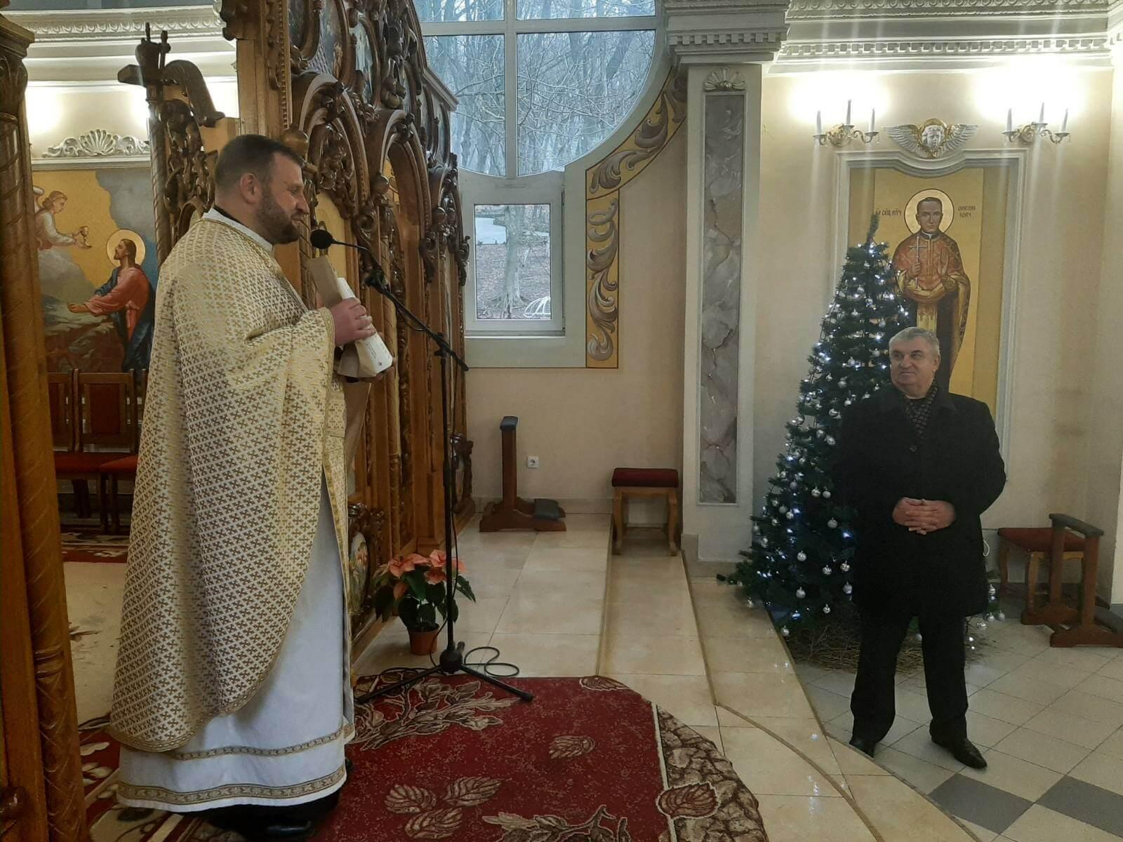 Молитва у Марійському духовному центрі с. Зарваниця