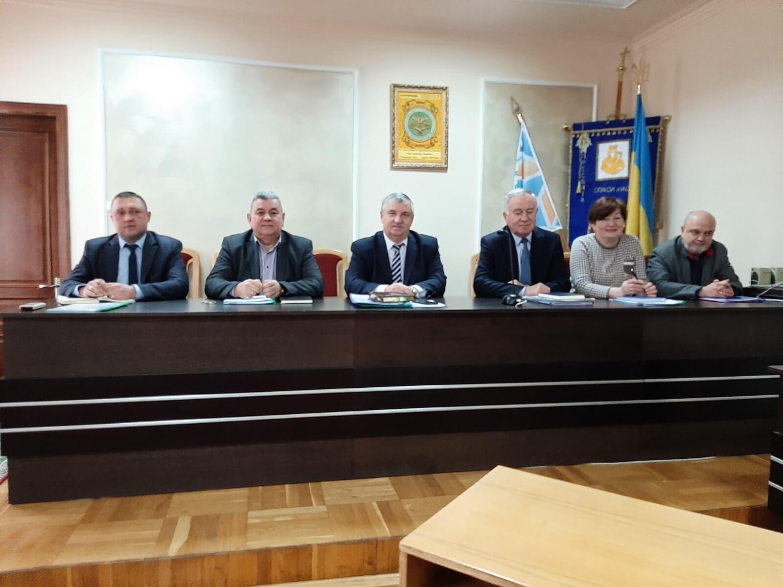 05 лютого 2021 року  відбулось розширене засідання правління  споживспілки