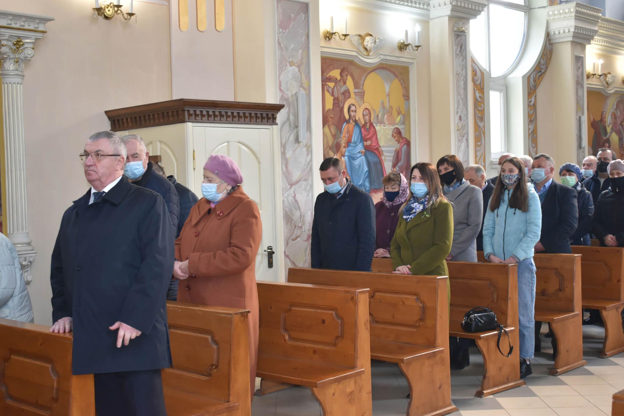 Спільна молитва у Марійському духовному центрі с. Зарваниця
